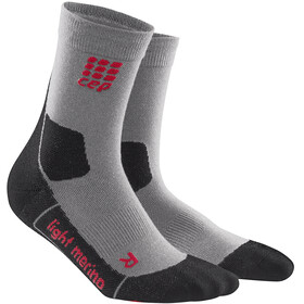 cep Dynamic+ Outdoor Light Merino - Calcetines Mujer - gris/negro